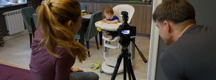 Детский видеооператор