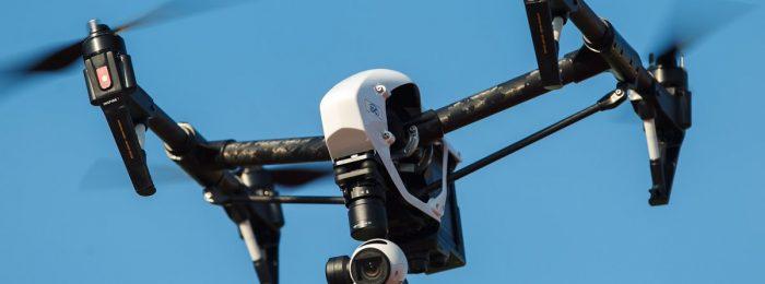 Видеосъемка с квадрокоптера